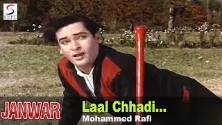 Laal Chhadi Maidan Khadi - Mohammed Rafi @ Janwar - Shammi Kapoor, Rajshree