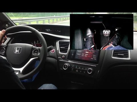 How to Drive a Stick Shift /Manual in a 2014 Si (Starting, Rev match, Hill Start, etc.)