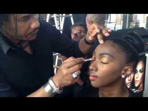 David Corançon Makeup Artist for Black Up in Praia