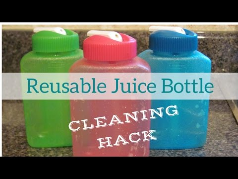 How to Clean Reusable Bottles With Straws | Cleaning Hack