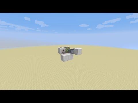 Super simple minecraft 1.11.2 Detector rail duplicator [Tutorial]