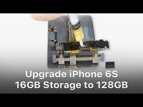 Upgrade iPhone 6S 16GB Storage to 128GB