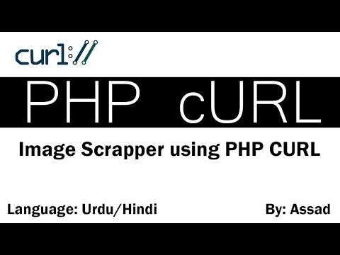 Scrap Images Using PHP cURL Urdu/Hindi