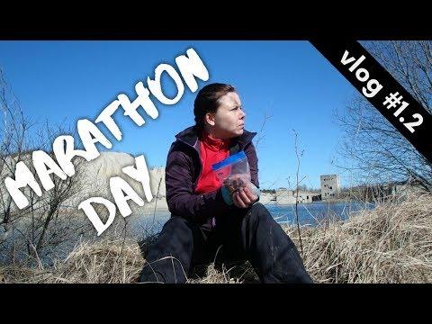 MARATHON DAY AND TREATING BLISTERS // Hiking Through Estonia vlog #1.2