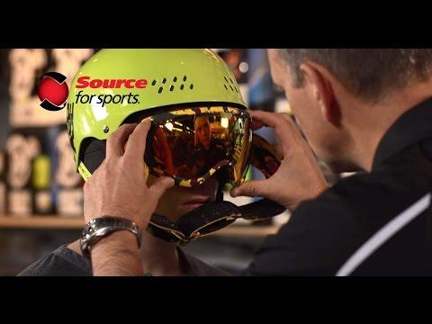 Pro-Formance Advantage: Ski Helmet & Goggle Fitting | Source For Sports