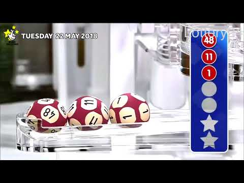 2018 05 22 Euro Millions Number and draw results