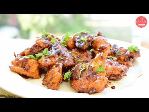 Vegan Chicken Wings in Sweet Garlic Sauce - Winter Special │Episode 094│ I'll Eat For Food
