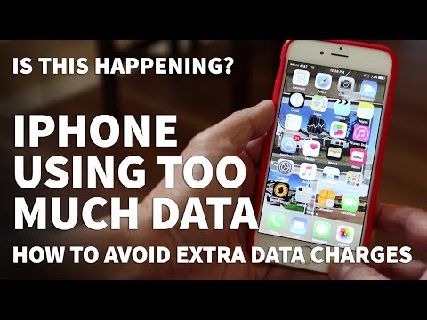 iPhone Using Too Much Data – How to Fix Extra Cellular Data Charges and High Data Usage