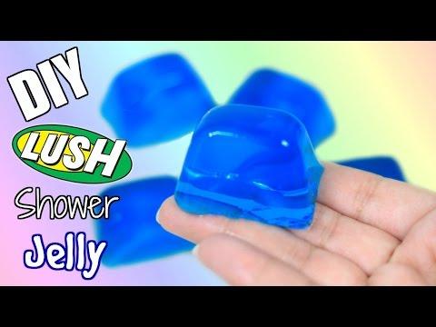 DIY Lush Shower Jellies + Demo | Super Easy