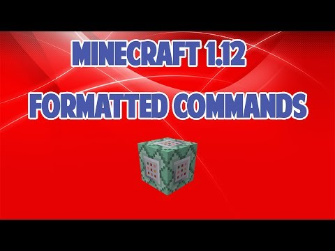 Formatting/Color Codes in Vanilla Minecraft 1.12+