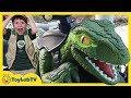 Raptor Blue Dinosaur Pretend Play Jurassic World Fallen Kingdom Dinosaurs Ride On Toy Car Training