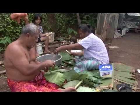 Samoan Palusami Classic: Taro Leaves & coconut