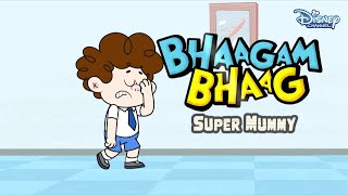 Bhaagam Bhaag Episode 3- Funny Hindi Cartoon For Kids - Disney India