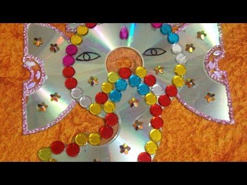 Make an Upcycled CD Ganesha - DIY Crafts - Guidecentral