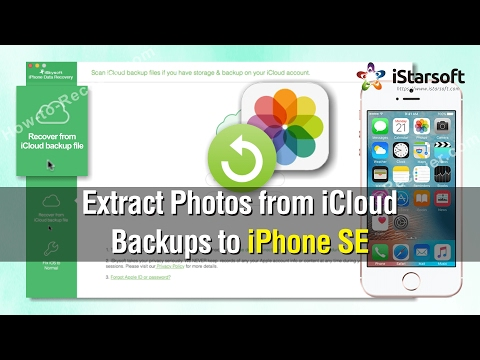 How to Extract Photos from iCloud Backups to iPhone SE