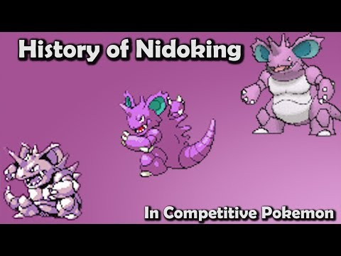 KING or PEON?! - History of Nidoking in Competitive Pokemon (Gens 1-6) ft. Vish