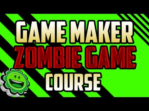 Game Maker Course - Full Zombie Game Tutorial