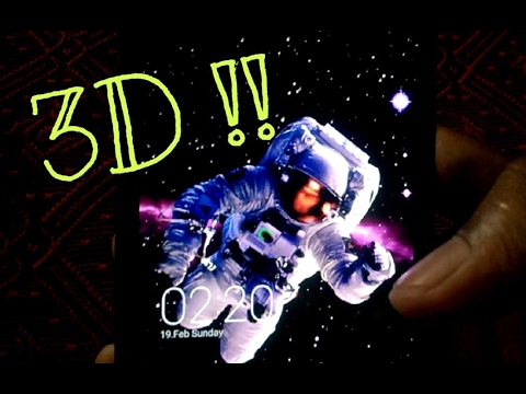 The 3D Parallax Wallpaper !!