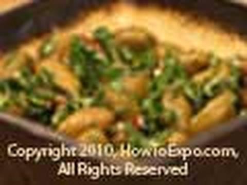 Basil Green Olive Marinade Recipe