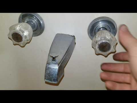 DIY - Bathtub Faucet Repair