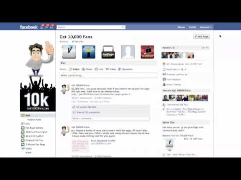 Facebook How To: Set Up Your Fan Page Default Tab