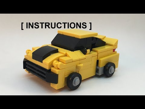 (INSTRUCTIONS) Lego Transformers Movie Bumblebee