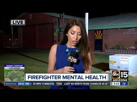 Fire departments focus on managing mental health after high-stress calls