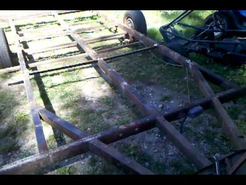 Free trailer restoration and build on the cheap