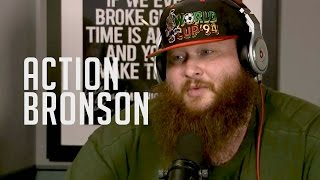 Action Bronson Talks Being A Father, His Bionic Leg And Freestyles!!