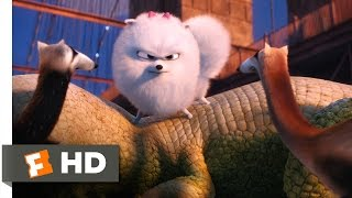 The Secret Life of Pets - Gidget Saves Max Scene (7/10)   Movieclips