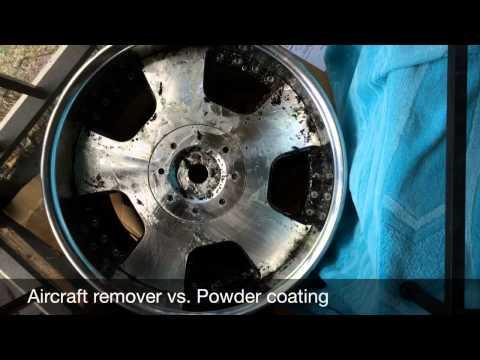 Aircraft remover vs powdercoat