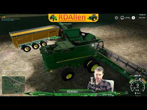 Making Progress on Westby Wisconsin FS19 Multiplayer RDAllen 01 22 19