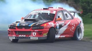 2JZ Swap Subaru Impreza GC8 with Sequential Gearbox! - OnBoard Drifting at Castelletto!