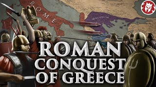 How Rome Conquered Greece - Roman History DOCUMENTARY