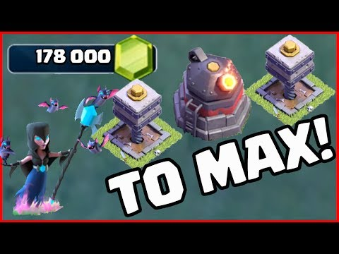 178,000 GEMS! MAXED OUT - Clash of Clans Builder Hall 6!