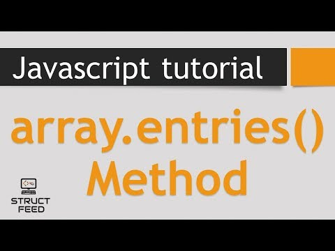 Entries Method in JavaScript Arrays