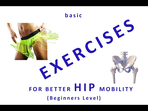 How to mobilize the hip joints and increase blood circulation - Step by Step