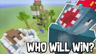 Minecraft Xbox - SUPERMARKET!! - Building Time! [#47