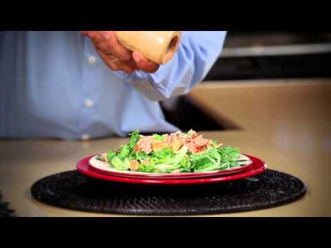 Honey Smoked Salmon Caesar Salad