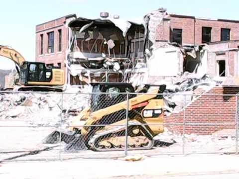 Wantz School Miamisburg Demolition 2016