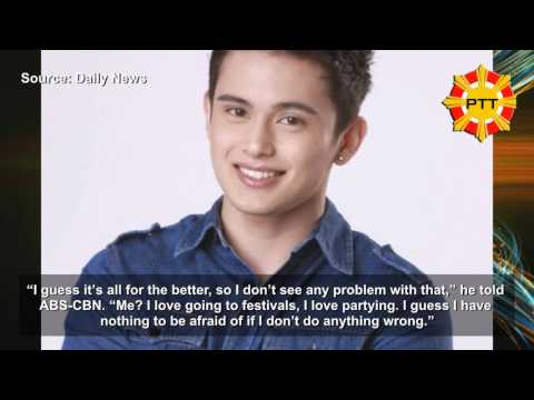 James Reid Supports War Against Drugs, Is Willing To Take Drug Test As An Example