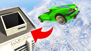 Can You LAND In The CHIMNEY?! (GTA 5 Funny Moments)