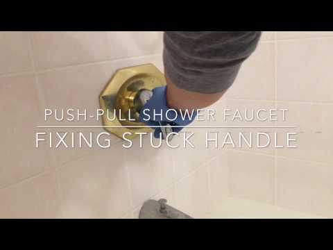 Fixing stuck or tight shower faucet DIY
