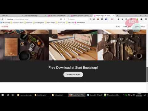 how to create dynamic menu in wordpress custom theme part 2of2