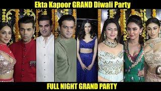 Ekta Kapoor Ki Grand DIWALI Party🎆🎇💃 | Full Night Party With Tv Celebrities And Bollywood