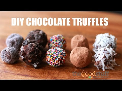 DIY Chocolate Truffles | The Good Stuff