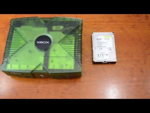 How To Upgrade HDD in Original Xbox ( TSOP / MOD CHIPPED )
