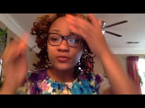 Sponge Rollers on Locs + How to curl locs