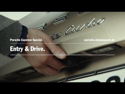 Porsche Cayenne - Entry & Drive