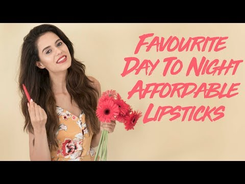 Favourite Day to Night Lipsticks + GIVEAWAY